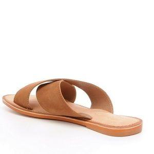 Ava Banded Slide-On Sandals YG6KS6g6o
